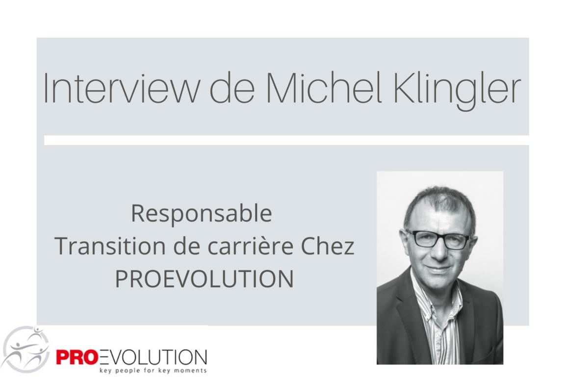 Michel Klinger transition carrière proevolution
