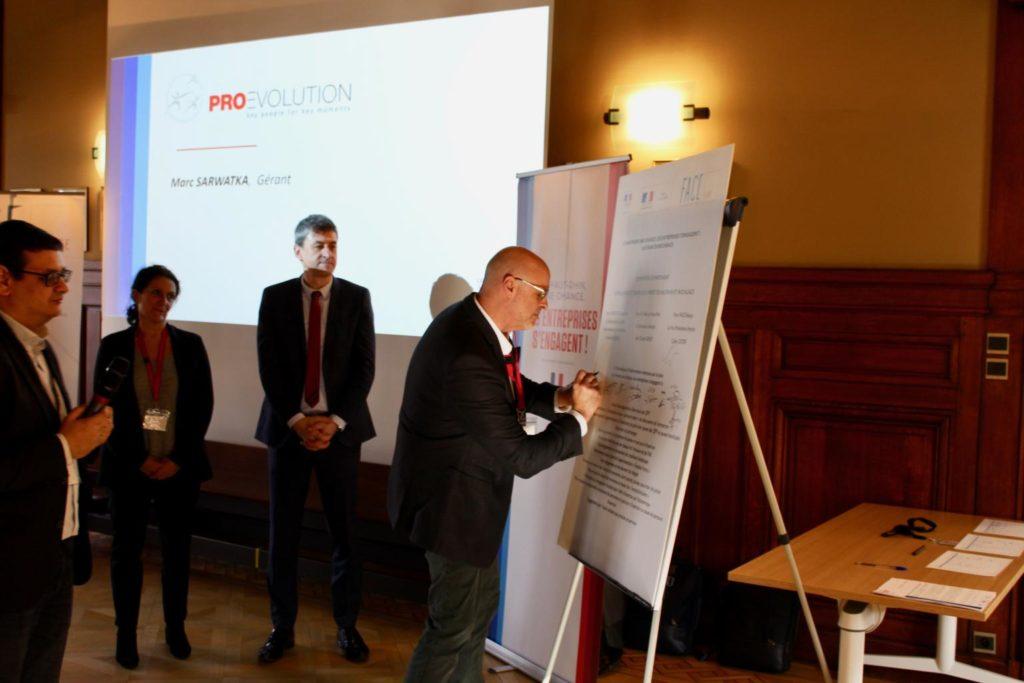 Marc Sarwatka, président signataire Le Haut-Rhin une Chance