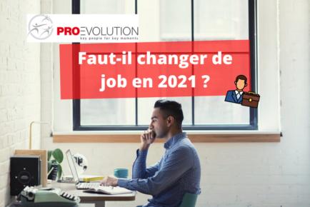 Changer de job en 2021