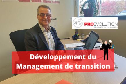 Développement de l'activité management de transition