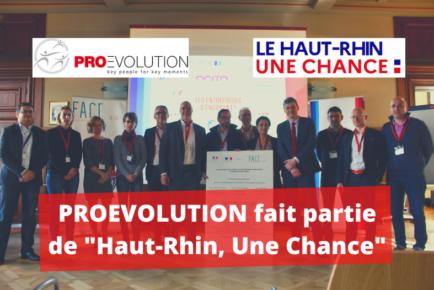Proevolution Haut-Rhin Une chance