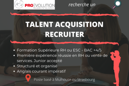 Recherche talent acquisition recruiter